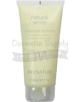 Natural White Cleanser & Toner